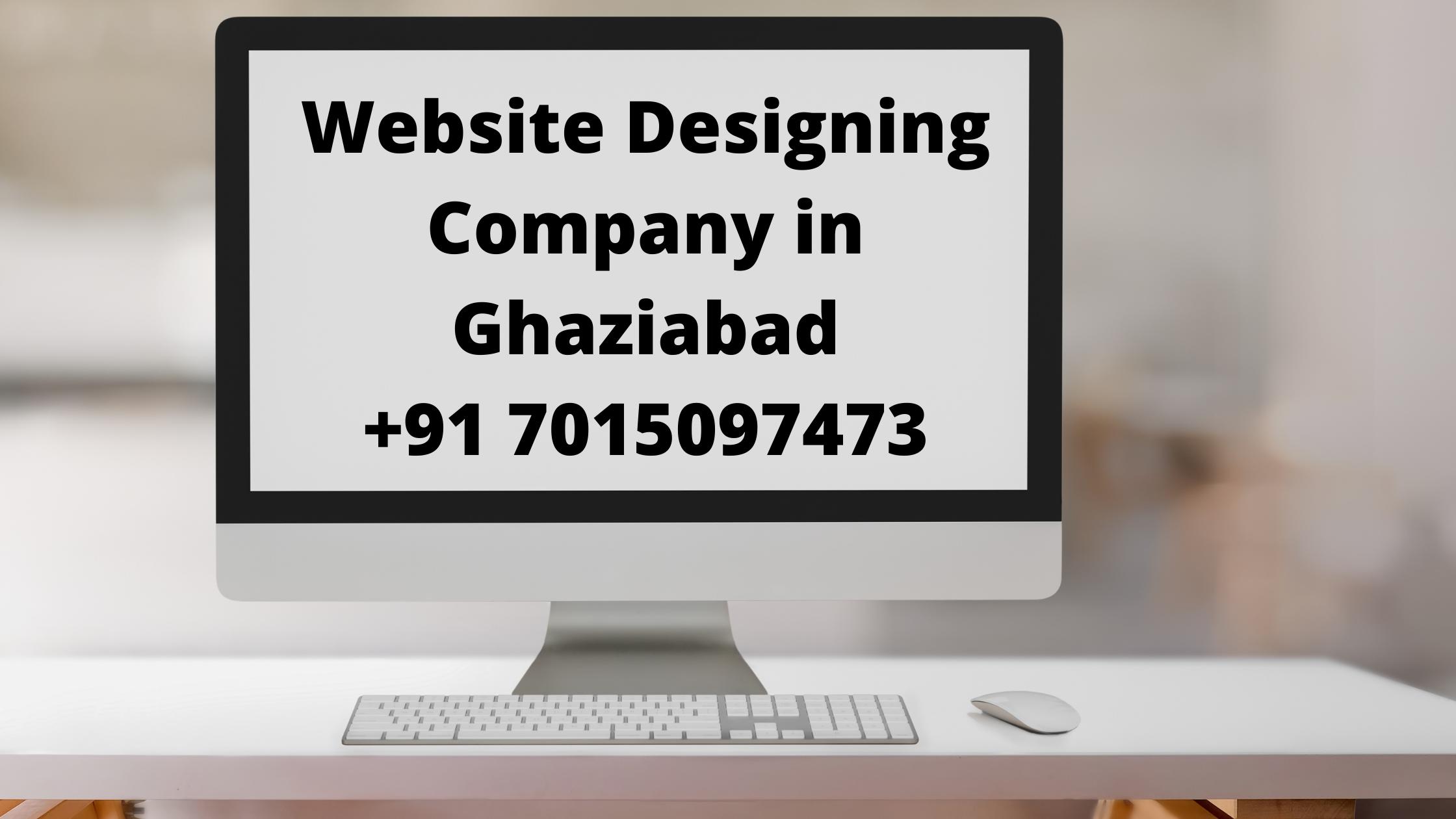 Website Designing Company in Ghaziabad